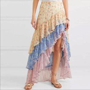 Dresses & Skirts - 🔹New🔹Tiered Floral Skirt